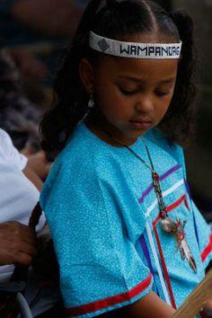 An image from the annual Mashpee Wampanoag Powwow. Photo by Trisha Barry.