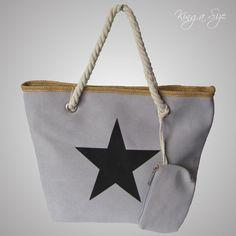 Trendy BAG - Tasche / Shopper / Schultertasche / Henkeltasche - CANVAS & STERN