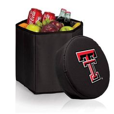 Texas Tech University Collapsible Bongo Cooler w/Digital Print