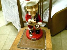 Bing Crosby Moving Singing Musicial Santa Christmas Doll Gemmy Pop Culture Series Summer Sale Free Shipping by XYZCOLLECTABLES on Etsy