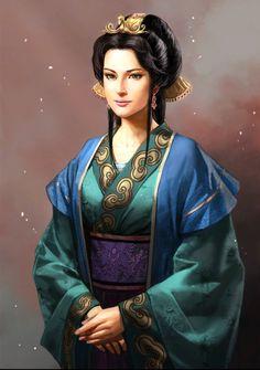 The Three Kingdoms 13 Character Character Portraits, Character Art, Conan Rpg, Fantasy Characters, Female Characters, Samurai Art, Fantasy Samurai, Female Samurai, Female Assassin