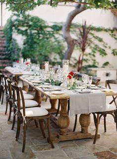 30 ideas para decorar las mesas de celebración de una boda: Inspiración para todos los gustos Image: 15