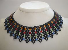 Handmade colorful necklace