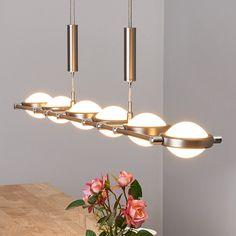 Height-adjustable linear LED pendant light Manja-Pendant Lighting-8587008-30