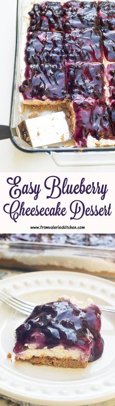This delicious dessert is a snap to pull together and is always a hit! ~ http://www.fromvalerieskitchen.com