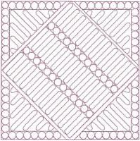 Quilted Modern Table Setting
