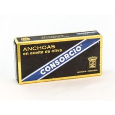 Anchova em Azeite de Oliva Consorcio (50gr)