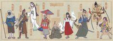 'The X-Men' Reimagined As Japanese Samurai Warriors