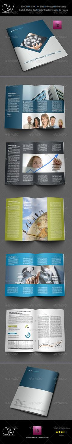 Company Brochure Template Vol.9 - 12 Pages