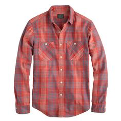 These new J.Crew flannels look awesome and will probably last you a lifetime. They come in the perfect-fitting slim fit too.  I have two from their Wallace & Barnes line and it looks like they're introducing the same quality in their own JCrew line, minus the special buttons.  It's hard to think about flannel when it's still 90+ degrees outside.  Damn never-ending Southern summer.