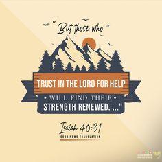 Isaiah 40 31, Good News, Bible Verses, Trust, Strength, Lord, Instagram, Scripture Verses, Bible Scriptures