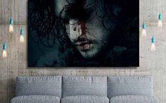 Quadro Jon Snow à venda no Etsy por R$ 97,17 (Foto: Divulgção/Etsy)