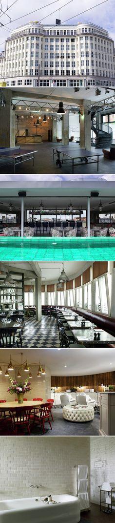 Memories la colombe d 39 or hotel calder mobile st for Bauhaus swimmingpool