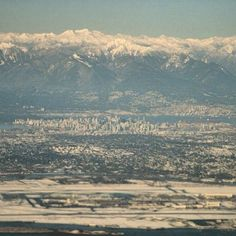 The first view I saw of Vancouver, Canada