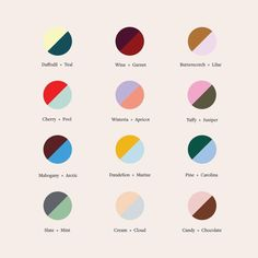 Our newest fall color theory guide to help you decide your next power couple. Tell us your favorite below. Colour Schemes, Color Combos, Color Patterns, Fashion Color Combinations, Graphic Design Inspiration, Color Inspiration, Website Design, Affinity Designer, Design Graphique