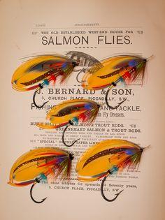 Salmon flies
