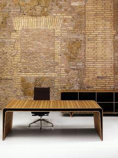 Wooden table MUMBAI by Castelli | Design Massimiliano and Doriana Fuksas