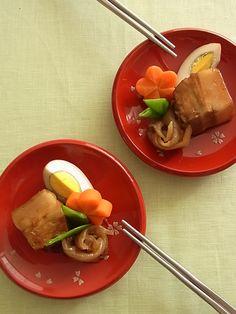 Rafute, Okinawan-Style Braised Pork Belly 沖縄ラフテー
