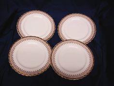 Queen Anne, china dinnerware England Tiara, set 4 Bread plate #QueenAnn #Queenanne