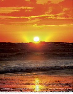 The Pacific Ocean Sunset ~ Venice Beach, California