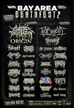 One of these death metal bands is not like the others.