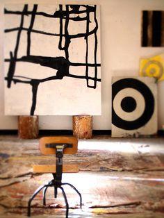 Harold Hollingsworth's studio