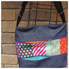 You Sew Girl large satchel bag