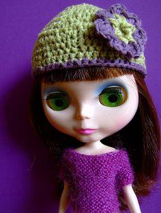blythe. Her purple eyes were my favorite!