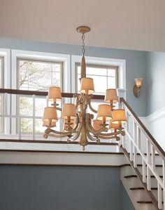Murray Feiss blaire 12 light multi tier chandelier in medium aged wood Arm Chandelier, Lighting, Home, Living Dining Room, Chandelier Lighting, Traditional Lighting, Chandelier, Aging Wood, Outdoor Light Fixtures