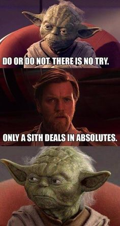 Star Wars irony