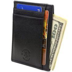 ea85223755ad Slim Wallets for Men Slim Front Pocket Wallet, Best Slim Wallet, Card Wallet ,