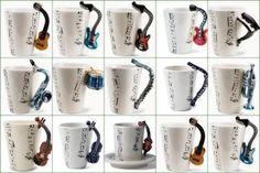 Musical mugs via (goo.gl/PtEGc)