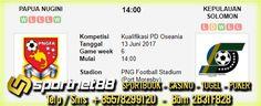 Prediksi Skor Bola Papua Nugini vs Kepulauan Solomon 13 Jun 2017 Kualifikasi PD Oseania di PNG Football Stadium (Port Moresby) pada hari Selasa jam 14:00