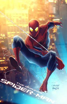 #Spiderman #Fan #Art. (The Amazing Spider-Man) By: MatthewSwift. (THE * 5 * STÅR * ÅWARD * OF: * AW YEAH, IT'S MAJOR ÅWESOMENESS!!!™)[THANK Ü 4 PINNING!!!<·><]<©>ÅÅÅ+(OB4E)