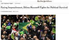 BLOG DO IRINEU MESSIAS: The New York Times diz que impeachment no Brasil é...
