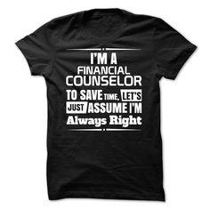 Financial Counselor T Shirt, Hoodie, Sweatshirt