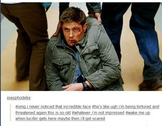Dean is so done