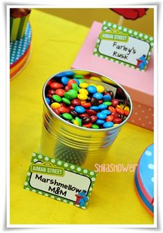 Sesame Street Party - Deco |Mrs.Kown