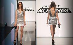 We love designer Kelly's winning look from this week of Project Runway.