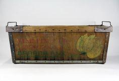 Vintage Banana Crate / Vintage Banana Box by HuntandFound on Etsy, $146.00