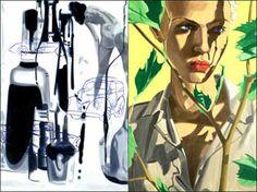 David Salle | Critique | Paris Opera Paintings | Paris 3e. Galerie ...