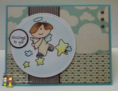Catch The Bug Challenge Blog: Freebie Friday: Wee One Angel