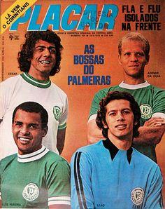 César Maluco, Ademir da Guia, Luis Pereira, Emerson Leão- Academia - 1972