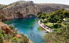 Exploring the caves of Lake Vouliagmeni   Life   ekathimerini.com