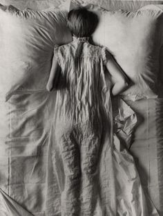 Woman in Bed (1941) by Irving Penn