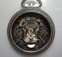 スチームパンク萌え...時計の部品から作られた幻想的な妖精たち 写真ギャラリー05 : 画像アップロード