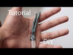tutorial collar macrame con punta de cuarzo | necklace macrame quarz - YouTube