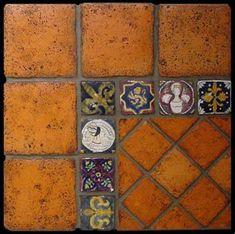 terra cotta mosaic - Pesquisa Google                                                                                                                                                                                 More