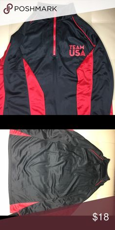 Team USA Jacket Black and red Team USA jacket , nice and sporty feel to it Jackets & Coats Performance Jackets