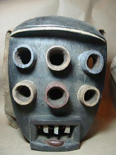 Kru Grebo Mask Liberia